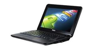 NETBOOK PHILCO COM HD DE 500GB CAMERA LEITOR CARTOES 2GB MEMORIA TELA 10.1