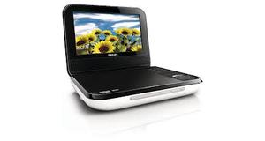 DVD PHILIPS PORTATIL COM CARRECADOR VEICULAR 700 7