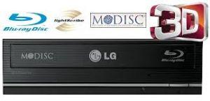 GRAVADOR E LEITOR BLURAY DVD CD LG WH12LS39 12X