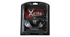 HEADPHONE XCITE C3 TECH JET