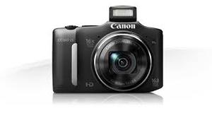 CAMERA CANON SX 160 16MB ZOOM 16X OPTICO FILMA EM HD