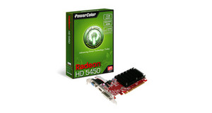 PLACA DE VIDEO POWER COLOR RADEON HD 5450 1GB DDR3 HDMI