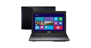 NOTEBOOK ASUS INTEL DUAL CORE HD500GB MEMORIA 4GB TELA 15.6 WINDOWS 8