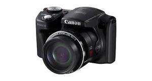 CAMERA CANON SX 500IS ZOOM OPTICO 30X LED 3.0 FILMA EM HD 16MP