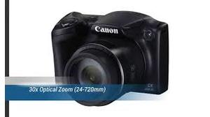 CAMERA POWERSHOT CANON SX400 IS 16MP 30X ZOOM FILMA EM HD +8GB SD