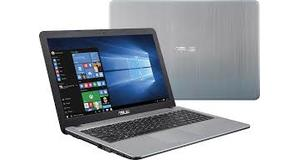 NOTEBOOK ASUS X540S INTEL PENTIUM QUAD CORE 4GB HD 500GB DVD RW LED 15,6 WINDOWS 10