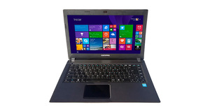 NOTEBOOK PRESARIO INTEL CELERON DUAL CORE 4GB 500GB TELA LED HD 14 W8.1 - COMPAQ