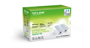 POWERLINE TP-LINK TL-PA4010 KIT INTERNET NA SUA REDE ELERTRICA