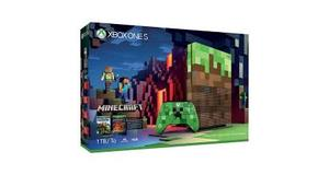 VIDEO GAME XBOX ONE S 1TB + MINECRAFT EDITION